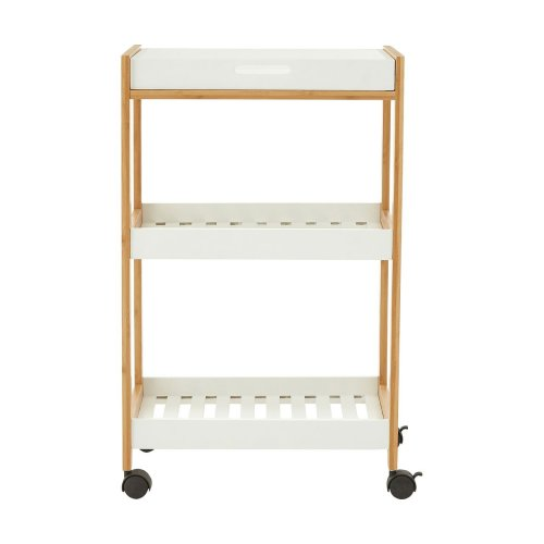 Nostra Shelf Unit, MDF, White