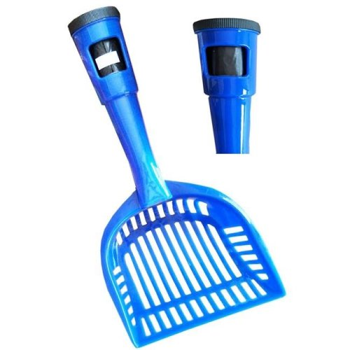 Pet Life PS1BL Pooper Scooper Litter Shovel, Blue - One Size