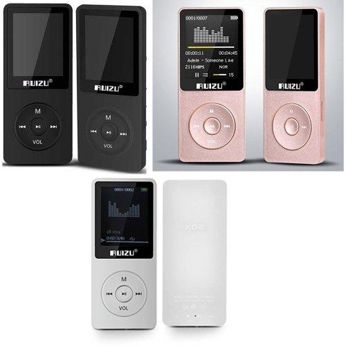 Evo Ruizu 8GB Lossless MP3 Music Video Player FM +