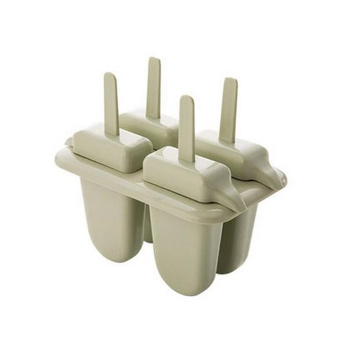 Simple But Elegant And Pure And Fresh Colour Ice Pop Molds, Matcha Green