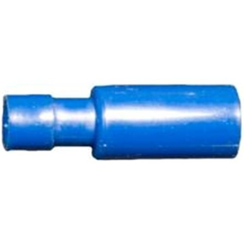 Morris Products 12064 Nylon Fully Insulated Double Crimp Bullet Disconnects - 16-14 Wire,.157 Bullet, Pack Of 100