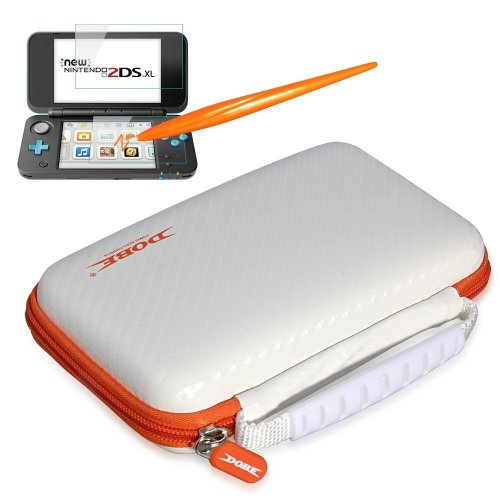 White Protective kit for New Nintendo 2DS XL