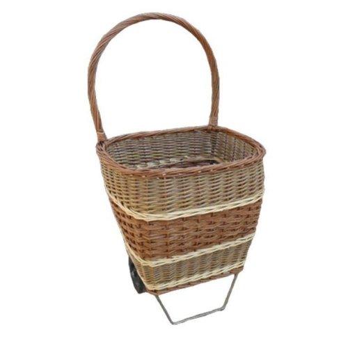 Wheeled Shopping Basket