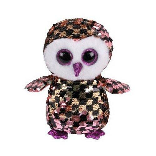 TY Flippable Checks Beanie Boo Toy