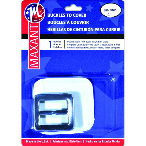 """Maxant Button Buckle Cover Kit-1"""" Square"""