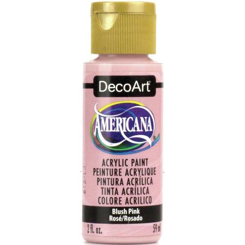Americana Acrylic Paint 2oz-Blush Pink