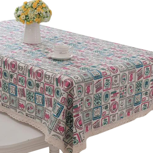 "39"" X 59"" Fashionable Rectangle Tablecloth Durable Table cloth Tea Table Mat Placemat #17"