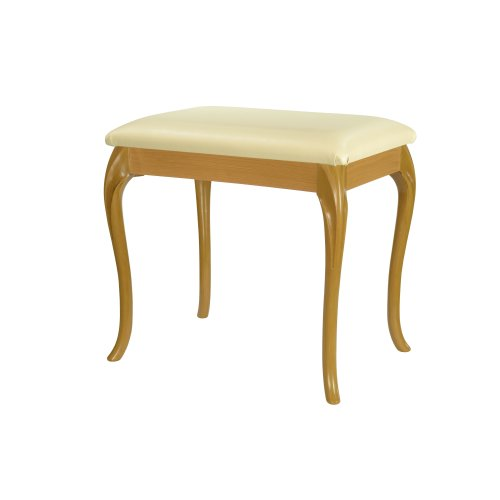 Tremendous Beech Grain Effect Large Dressing Table Bedroom Foot Stool With 17 Cabriole Legs Download Free Architecture Designs Terchretrmadebymaigaardcom
