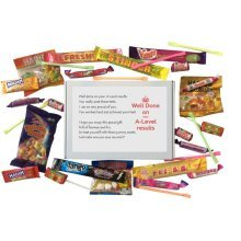 A-Level Results Congratulations Sweet Box - A great way to say well done