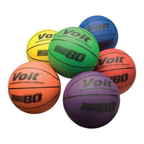 MacGregor 1308099 25.5 in. Colt Basketball, Set of 6