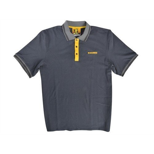 Roughneck Clothing 95-011 Grey Polo Shirt 42-44in - L