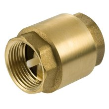 """1"""" to 3"""" Inch BSP Brass Check Non-Return Valve Female With Plastic Insert"""
