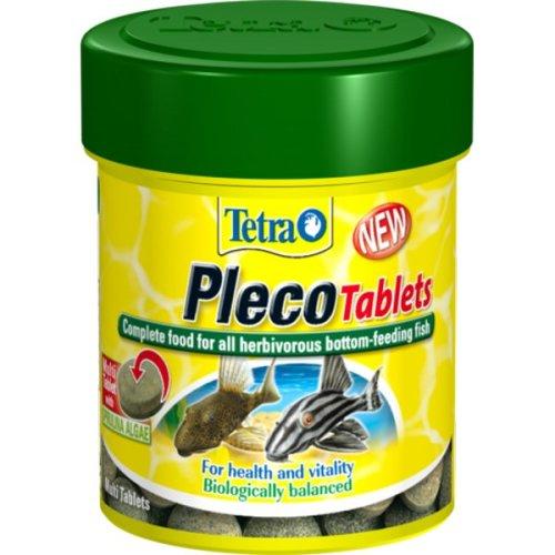 120 Tab Tetra Plecomin Fish Food -  120 tablets plecomin catfish plecostomus food tabs x zebra