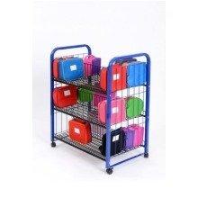 Double Sided Lunchbox Trolley (A1530) - Nursery, Pre-School, Classroom