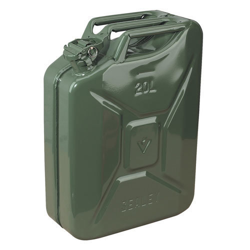 Sealey JC20G 20ltr Jerry Can - Green