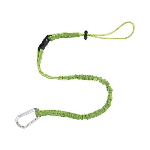 Squids 3102EXT Tool Lanyard with Detachable End, Extended Length, Lime
