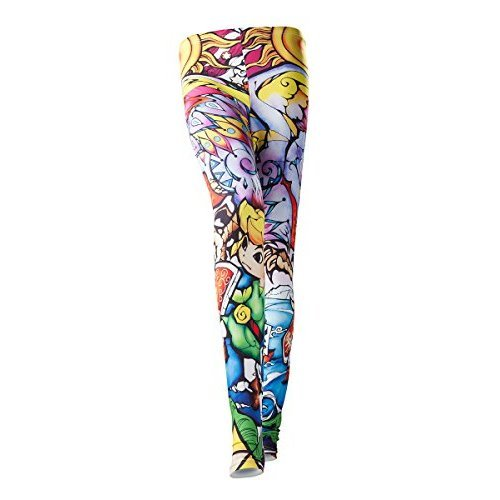 Women's Nintendo Legend of Zelda Windwaker HD All-Over Link Print Multi-Colour Leggings, W30/L32 (Large) (New)