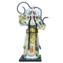 Traditional Chinese Doll Peking Opera Performer - Mu Gui Ying 01