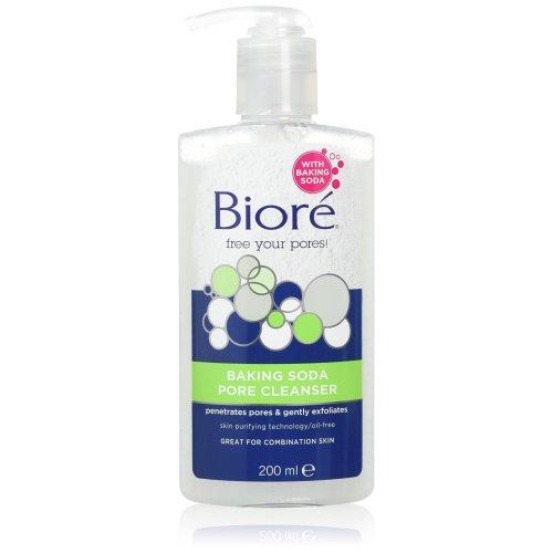 Biore Baking Soda Pore Cleanser, 200 ml