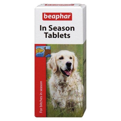 Beaphar Dog In Season Tablets 30's (Pack of 6)