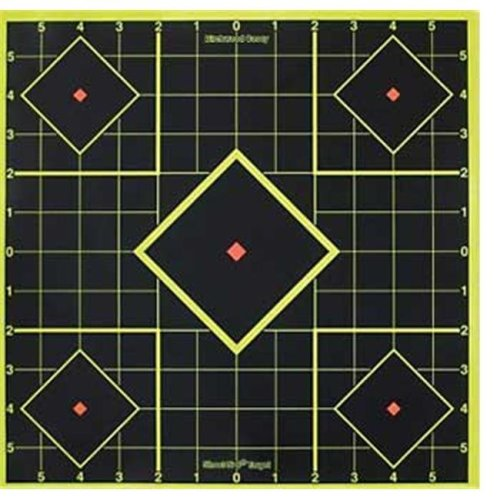Birchwood Casey BC-SI-6 Birchwood Casey Shoot - N - C Sight - In Targets  8 in.  Square  6ct