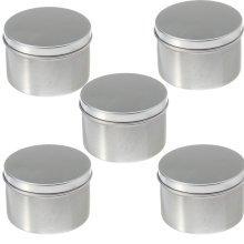 Round Aluminum Cosmetics Container