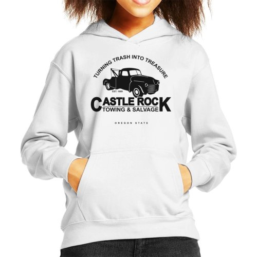 Castle Rock Towing And Salvage Stand By Me Kid's Hooded Sweatshirt