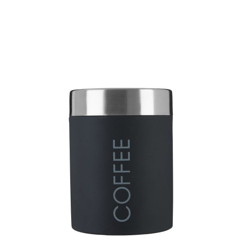 Premier Housewares Coffee Canister - Black