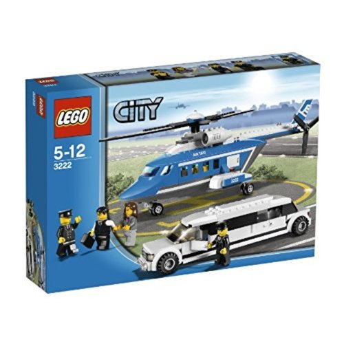 LEGO City 3222–Helicopter and Limousine