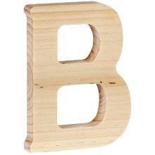 """Walnut Hollow Wood Letter 5""""-B"""