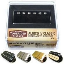 Tonerider Humbucker Pickup: Alnico IV PAF (AC4) Humbucking Pickup for Les Paul