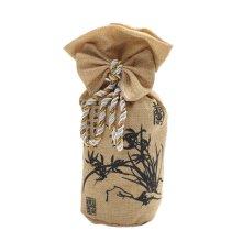 Cartoon Bamboo Charcoal Bag Car Decoration Accessories, Brown