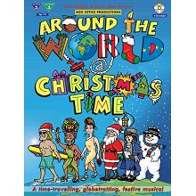 Around the World at Christmas Time (With 2 Free Audio CD's)