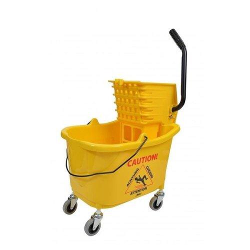 Janico 1010 CPC Mop Bucket & Sidepress - Plastic