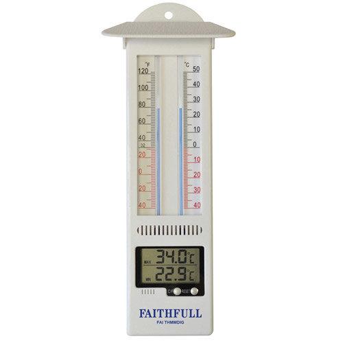 Faithfull FAITHMMDIG Thermometer Digital Max-Min