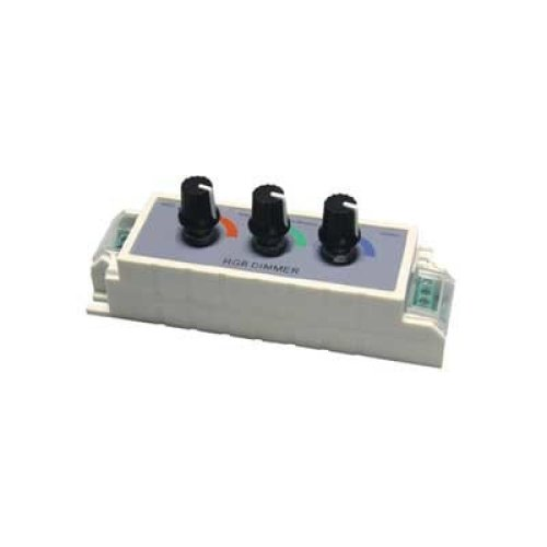 12 V Dimmer for RGB Colour LED Tape