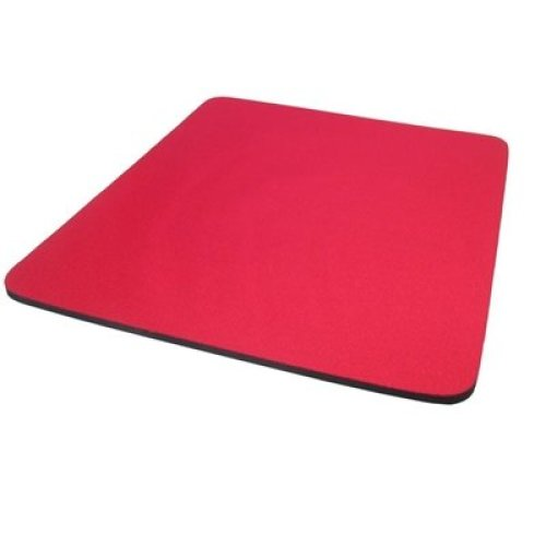 Red Non Slip Mouse Mat MPR-2