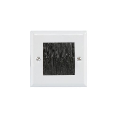 Brush Wallplates Single