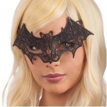 Lace Cut Bat Shape Eye Mask
