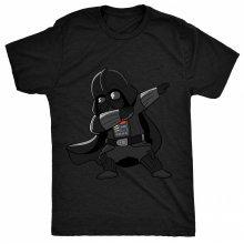 8TN Dabbing Darth - Star Fan - Dark Side Wars Vader Costume Womens T Shirt
