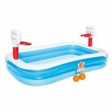 Bestway 54122 inflatable kiddie paddling pool basketball set