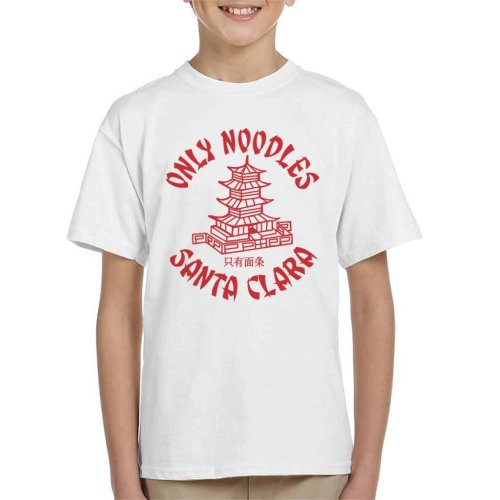 Santa Carla Only Noodles Lost Boys Kid's T-Shirt