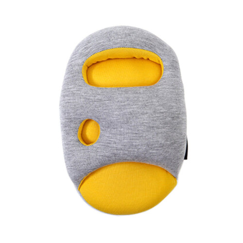 Functional Pillow Creative Comfortable Yellow/Gray Cushion Pillow