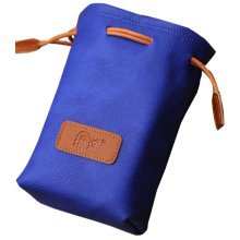Blue Camera Pouch Camera Lens Bag Lens Bag