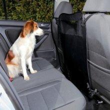 Car Separation, Foldable, 60/44 × 69 Cm, Black - Trixie Front Partition Dog -  car trixie front partition dog seat 13175 puppy block guard travel