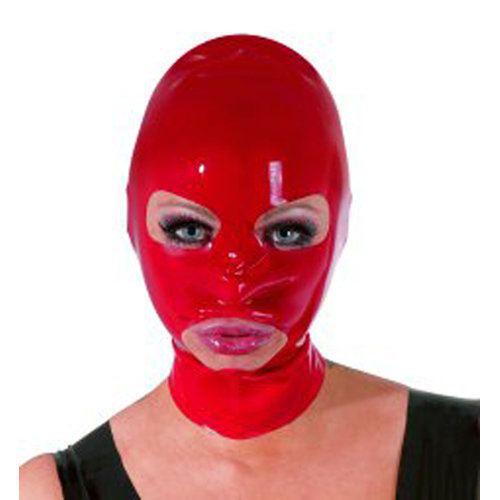 Latex Mask red  BDSM Masks - The Latex Collection