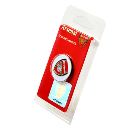 Arsenal Golf Ball Marker - Foot Official Fc Club -  ball arsenal marker football golf official fc club