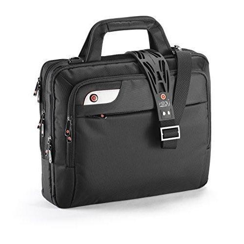 """i-stay 15.6"""" Laptop Bag With Non-Slip Shoulder Strap - Black"""