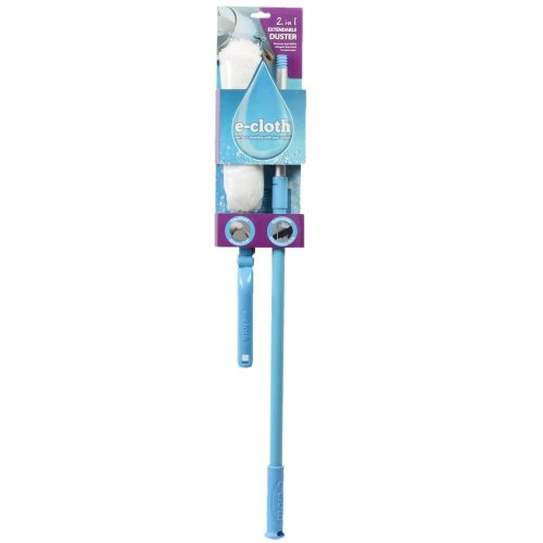 e-Cloth 2-in-1 Extendable Duster - Lightweight 270° Angle with Telescopic Handle