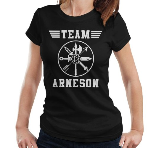 Dungeons And Dragons Team Arneson Women's T-Shirt